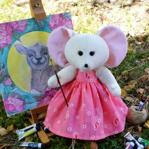 """Soft toy """"Mousy Lesi"""""""