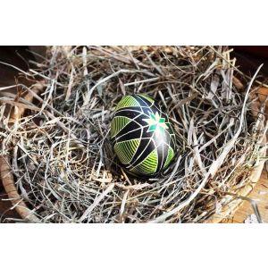«Spring star» pysanka (Easter egg)