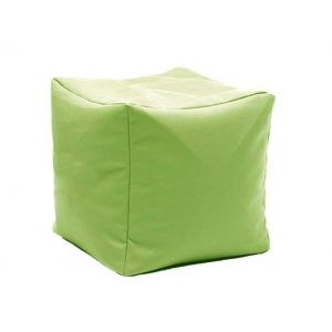 "Square pouf ""Colorful cube"""