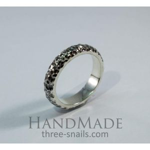 """Sterling silver rings """"Magic stone"""""""