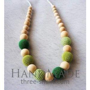 "Teething beads ""Green beads"""