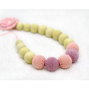 "Teething necklace ""Flower"""