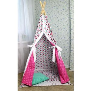 "Tents for kids ""With hearts"""