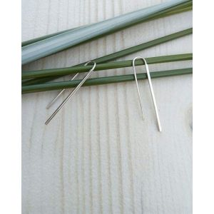 "Tiny earrings ""Long line"""
