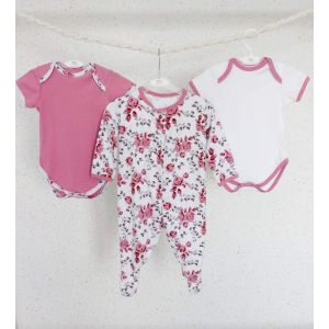 "Toddler suits ""Pink happiness"""