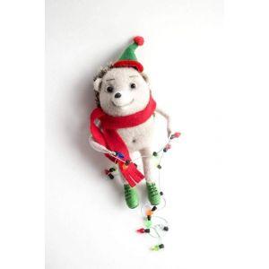 """Top toys for Christmas """"Christmas hedgehog"""""""