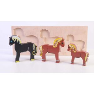 "Toy farm animals ""Horses"""