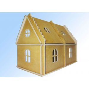 "Toy wooden house ""Country house for doll"""