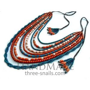 "Traditional Necklace ""Sunrise"""