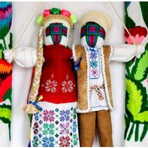 Traditional Ukrainian Doll. Wedding talisman