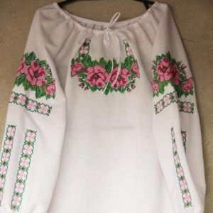 """Ukrainian embroidered blouses """"Roses"""""""