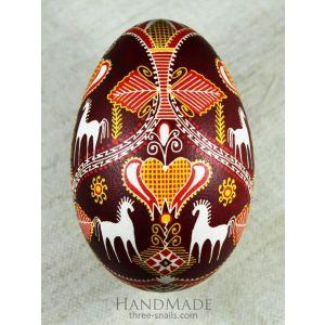 Ukrainian Pysanka «Mother's embroidery»