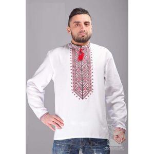 "Ukrainian shirt ""Red ornament"""