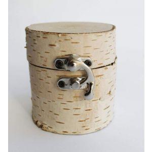 "Unfinished wood box""Birch elegance"""