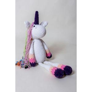 Crochet toy Big Unicorn