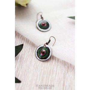"""Unique earrings """"Eye"""""""