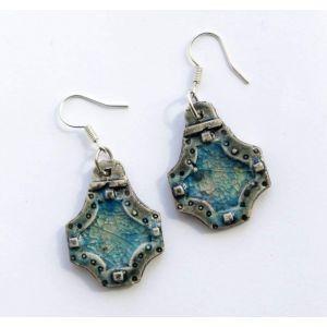 """Unique earrings """"Magic of sea"""""""