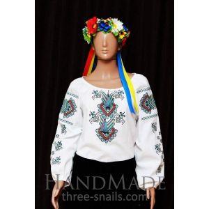 Unique embroidery designs. Woman Vyshyvanka