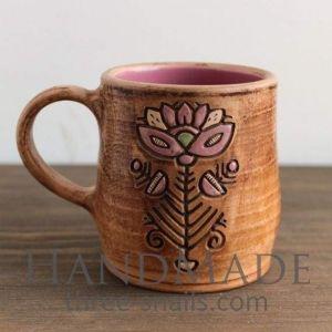 """Unique mugs""""Flower Stalk"""""""