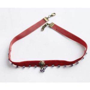"Velvet choker ""Royal luxury"""
