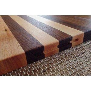 Walnut And Maple Grain Cutting Board