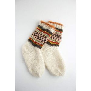 "Warm socks ""Kaleidoscope"""