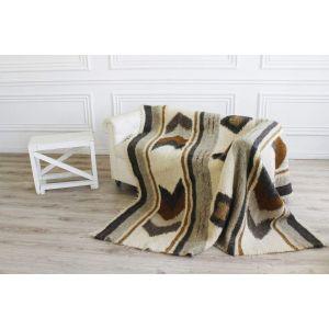 "Weaved plaid blanket ""Geometric"""