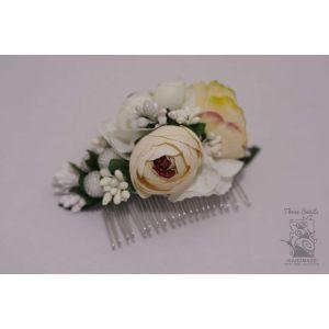 """Wedding hair accessories. Hair comb """"Wedding charm"""""""