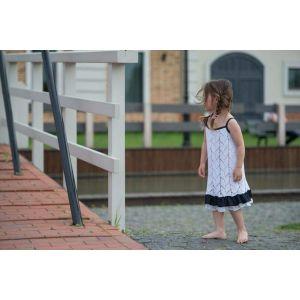 """White crochet dress """"Spikelet"""""""