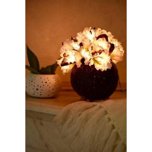White flower lanterns
