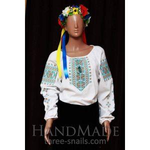 Woman blouse. Ukrainian embroidery
