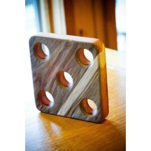 Wood table trivet