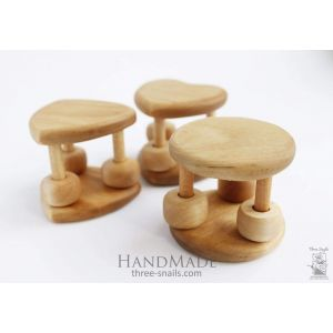 "Wooden baby toy ""Happy day"""