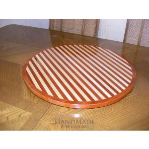 Wooden Carved Round Board
