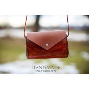 """Wooden clutch bag""""Envelope""""Wooden clutch bag""""Envelope"""""""