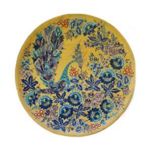 """Wooden decorative plate """"Wind Bird"""""""