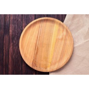 "Wooden dinner plate ""Home coziness"""
