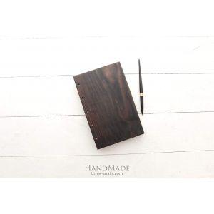 "Wooden handmade notebook ""Sucсessful person"""