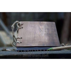 """Wooden notebook """"Idyll"""""""