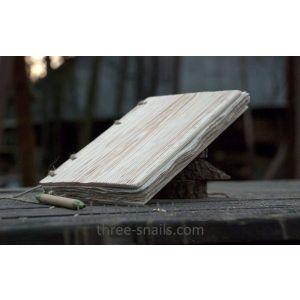 "Wooden notebook ""Serenity"""