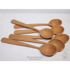 """Wooden spoon set """"Happy cook"""""""