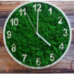 "Wooden wall clocks ""Green day"""