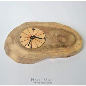 """Wooden wall clocks """"The wheel of Fortune"""""""