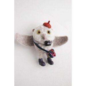 "Wool feltgifts ""Owl photographer"""