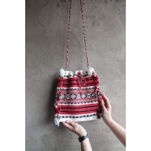 "Woven handbags ""Geometric pattern"""