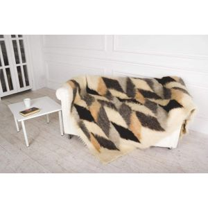 """Woven soft blanket """"Smoothness"""""""