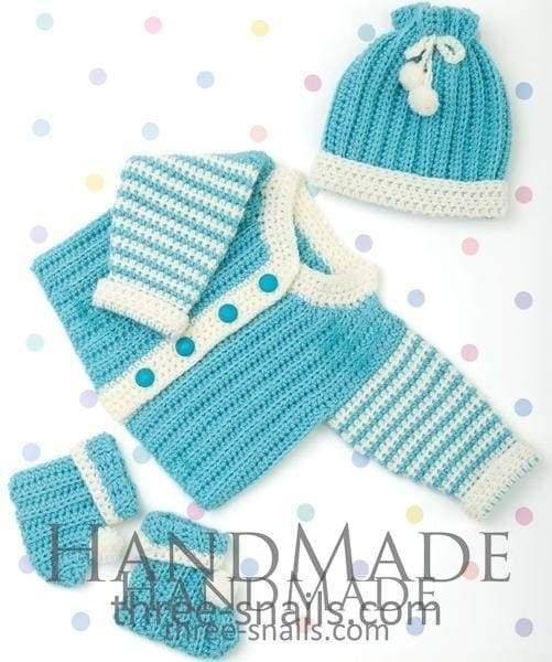 Buy Baby Boy Crochet Outfits Turquoise Online Ts Handmade