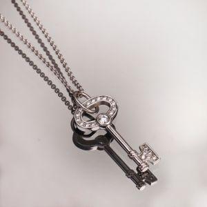 Pendant diamond key