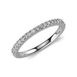 Ladies diamond wedding ring in yellow gold 0.330 carat