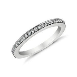Gold wedding band 0.160 carat